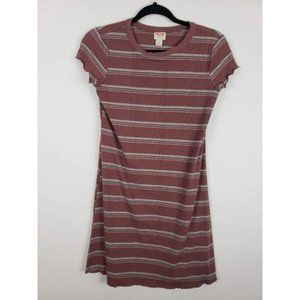 Mossimo Striped T-Shirt Knit Dress